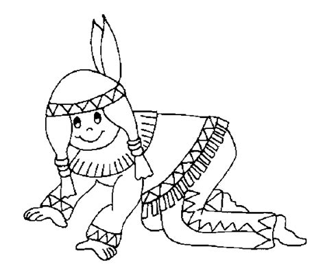 indian canoe coloring page free sioux indians coloring pages