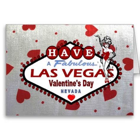 valentines day in las vegas greeting cards