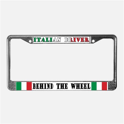drivers license tag italian american licence plate frames italian american license plate covers cafepress