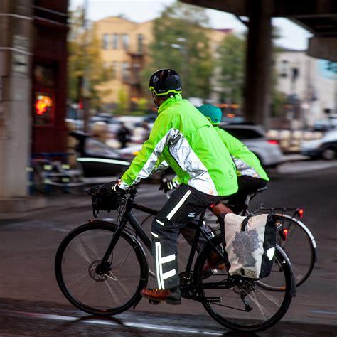 mens hi vis cycling 100 mens reflective cycling jacket mens winter