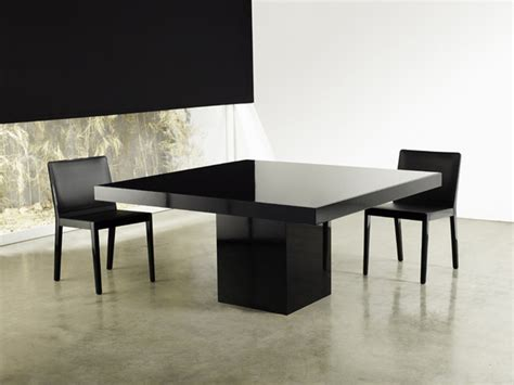 beech square dining table modern dining tables los