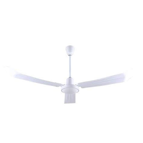 canarm industrial ceiling fans canarm 56 in white industrial ceiling fan with 3 blades