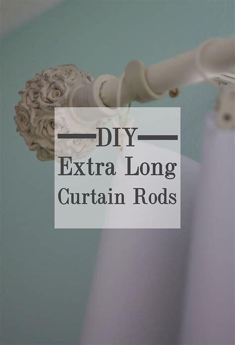 diy long curtain rod best 25 extra long curtains ideas on pinterest long