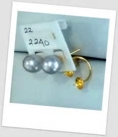 Black Lace Earrings Anting Aksesoris Anting Handmade handmade gold earring with south sea pearl etr 028 harga mutiara lombok perhiasan toko emas