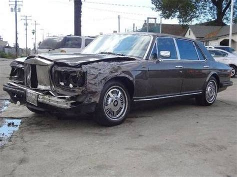 purchase used 1988 rolls royce silver spur damaged salvage