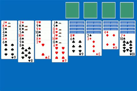 Printable Solitaire Card Games | solitaire card game card pictures