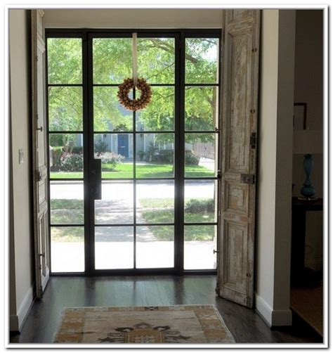Exterior Steel Door With Window Metal Glass Doors Exterior Front Doors And Entryways 236 X 268 183 11 Kb 183 Jpeg Doors