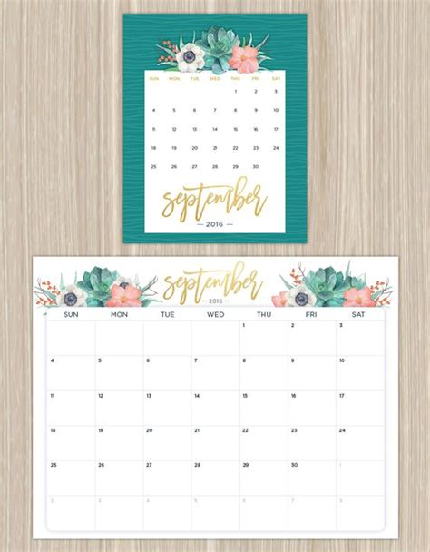 printable calendar flowers printable calendars for a more floral 2017 beautiful