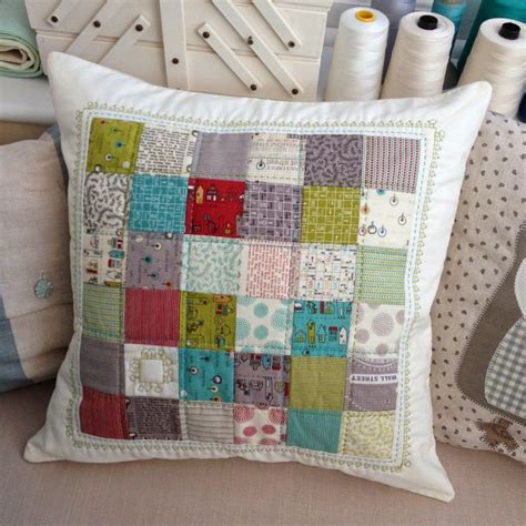 Patchwork Cushion Cover Tutorial - pin by orla jupp on quilting