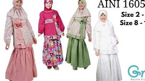 Baju Muslim Anak 3d wa 0821 3898 4178 baju muslim anak perempuan terbaru