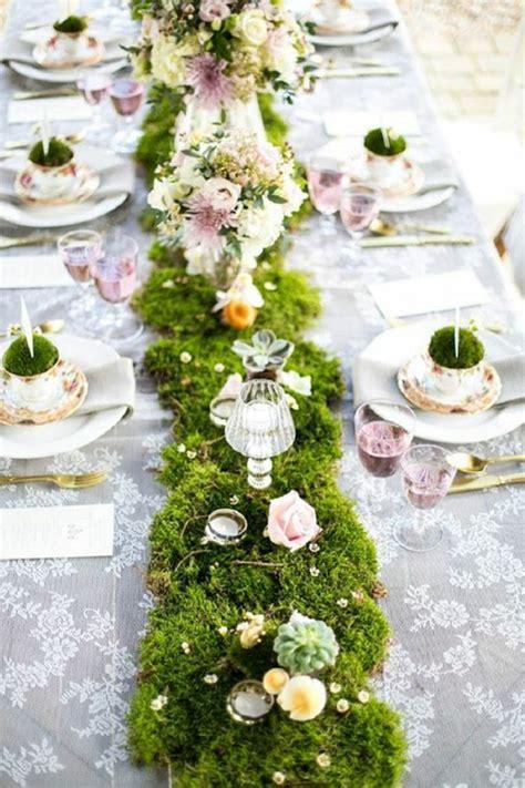 Tischdeko Hochzeit Ideen Vorschl Ge by 1001 Ideen F 252 R Deko Mit Moos Zum Erstaunen Und Bewundern