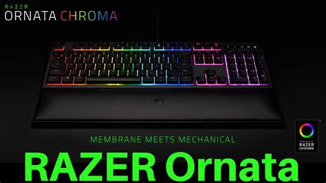 Razer Membrane Keyboard Ornata Chroma razer ornata chroma revolutionary mecha membrane gaming