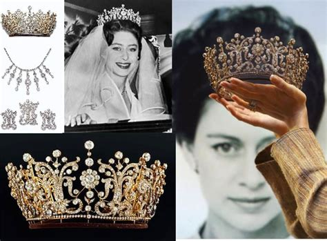 princess margarets poltimore wedding tiara poltimore tiara crowns tiaras pinterest
