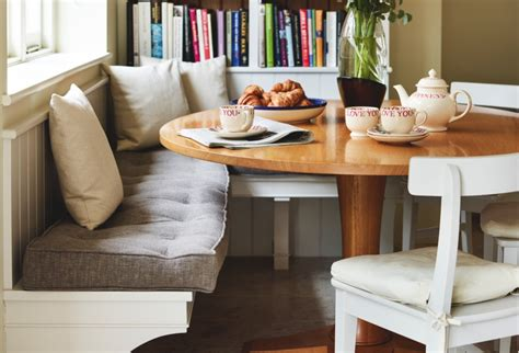 fitted kitchen bench seating eight steps to a spacious kitchen homes and antiques