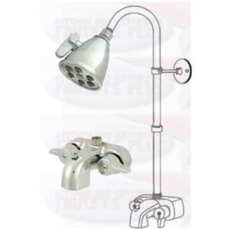 Shower Head For Clawfoot Tub by Chrome Clawfoot Tub Add A Shower Kit With K138a1 Shower