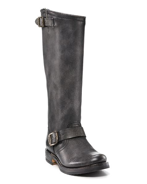 Strapped Turn Up Slouch Boots From Asoscom by Frye Quot Quot Slouch Boots Bloomingdale S