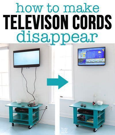 how to hide cords on a wall mounted television with in my