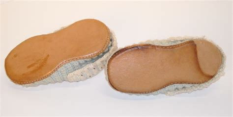 leather soles for slippers knit wool slippers with leather soles from dollroom on