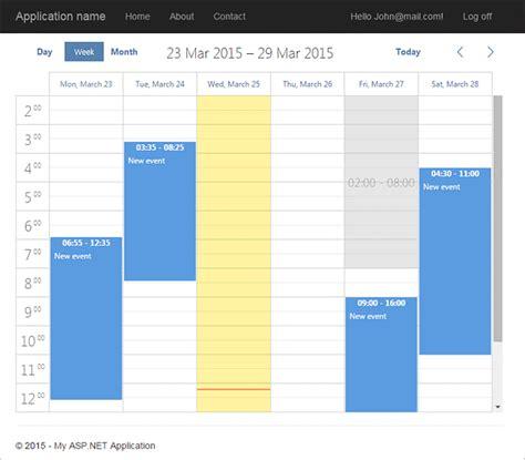 design calendar asp net dhtmlx scheduler net asp net calendar control exle