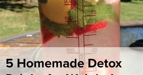5 Day Detox Acecept Meridian Ins by 5 Detoxdrinks For Weight Loss Oh So Fit
