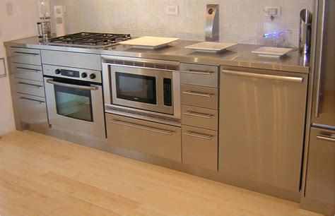 kitchen design idea install a stainless steel backsplash dazzling kitchen design for small space with stainless