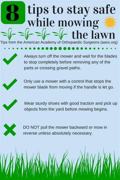 8 tips to stay safe while mowing the lawn health enews