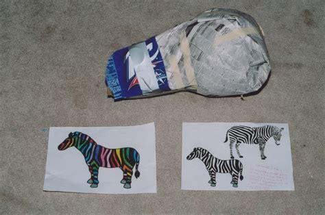 How To Make A Paper Zebra - how to make a origami zebra images craft decoration ideas