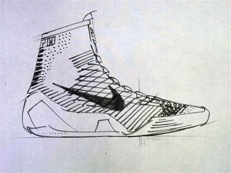 drawings of basketball shoes nike introduces 9 elite basketball shoe concept
