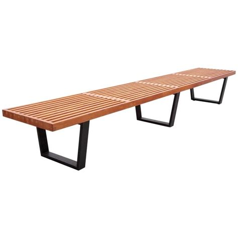 george nelson slat bench largest george nelson slat bench for herman miller for