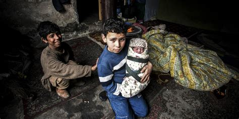 Child In The War on 3rd anniversary of syrian civil war children