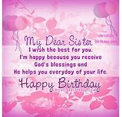 My Dear Sister Happy Birthday Pictures Photos And