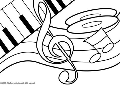 music education coloring pages 54 best coloring sheets images on pinterest music ed