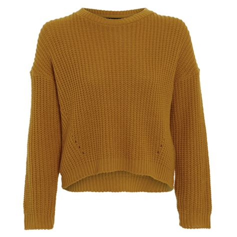 knitted womens jumpers damned delux s cesca knitted jumper mustard gold