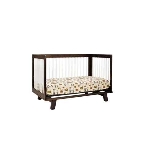 Hudson 3 In 1 Convertible Crib With Toddler Rail Babyletto Hudson 3 In 1 Convertible Crib With Toddler Bed Conversion Kit In Espresso White