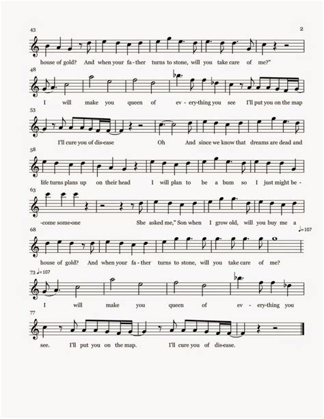 my house is full sheet music flute sheet music house of gold part 2 sheet music flute music pinterest