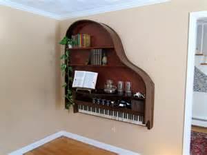 baby grand piano bookshelf by lelandandwood on etsy