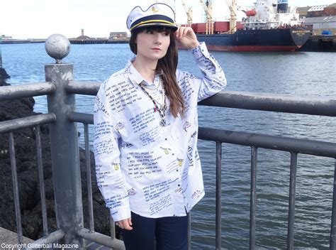 nautical style look of the week military meets nautical style