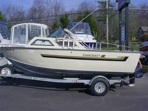 bdo fishing boat worth it starcraft 19 aluminum weekender w galvanized trailer