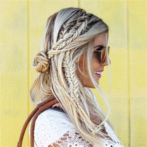 gypsy style hairstyles best 25 bohemian hair ideas on pinterest hippie hair