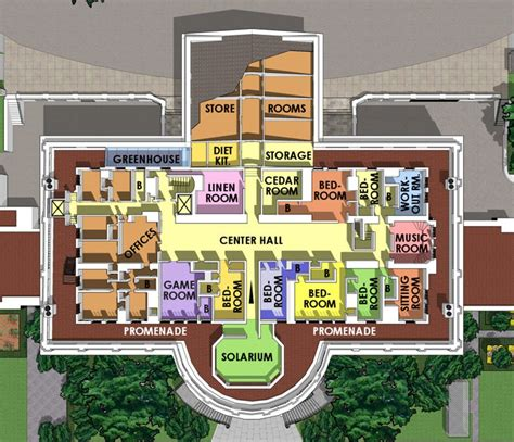wh floor plan the white house maplets
