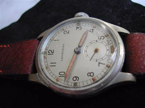 Army Trade Pattern Watch | ww2 leonidas atp army trade pattern watch circa 1940