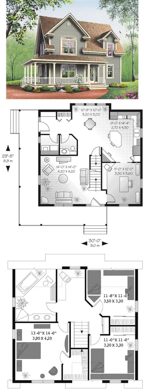 farmhouse floorplans small farm house plans with basement canada farmhouse