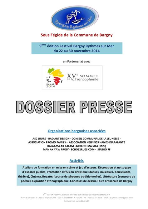 Modele Dossier Presse