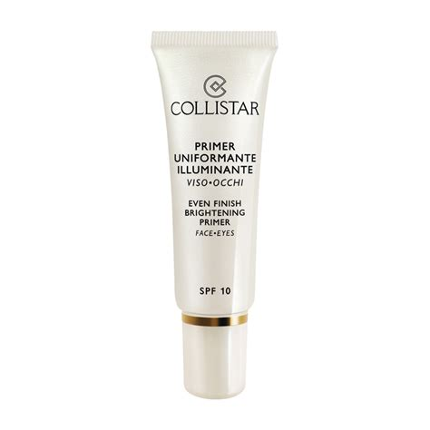 collistar illuminante collistar primer uniformante illuminante viso occhi 30 ml
