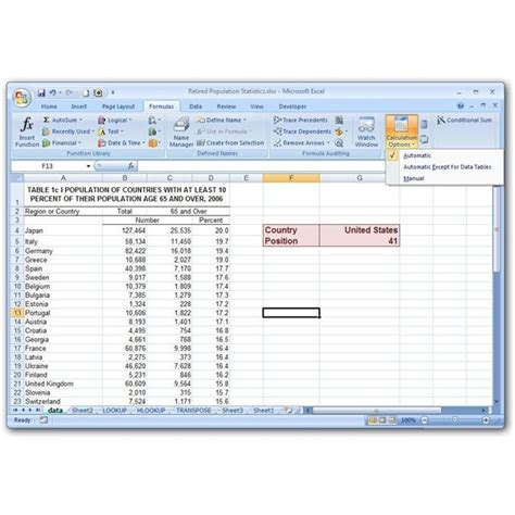 tutorial excel calculation how to make cells auto calculate in excel tables in