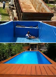 how to build above ground pool 7 diy swimming pool ideas and designs from big builds to