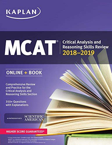 cen review book 2018 2019 cen study guide and practice test questions for the certified emergency mcat critical analysis and reasoning skills review 2018