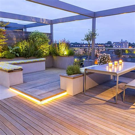 Small Apartment Storage Ideas by Roof Terraces Gardens By Contemporary London Designers