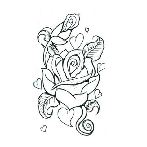 heart rose tattoo designs designs tattoos