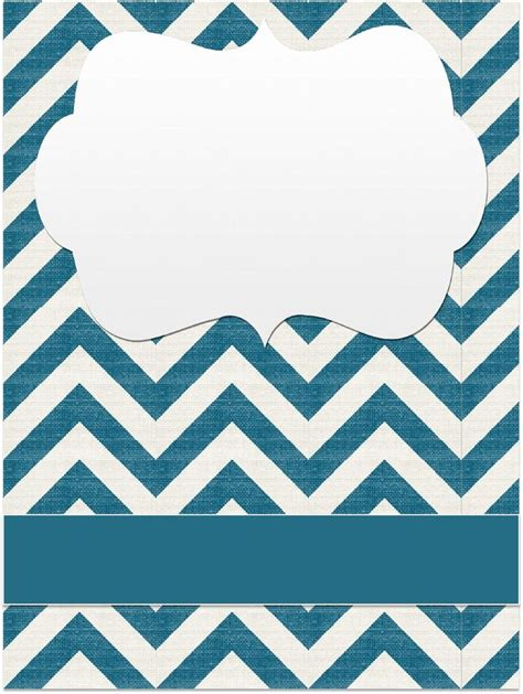 printable chevron binder covers binder covers chevrons scribd fonts clipart and